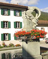Klosters Fountain